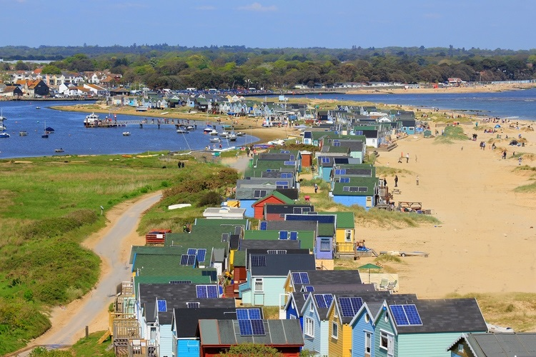 Mudeford, Hampshire, Inglaterra