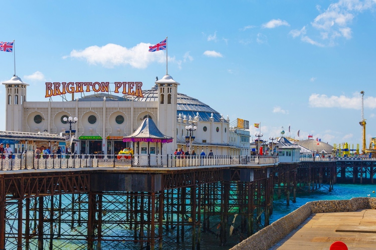 Brighton Pier, Inglaterra, Sussex